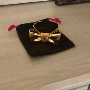 Kate Spade Large Bow Gold Bangle
